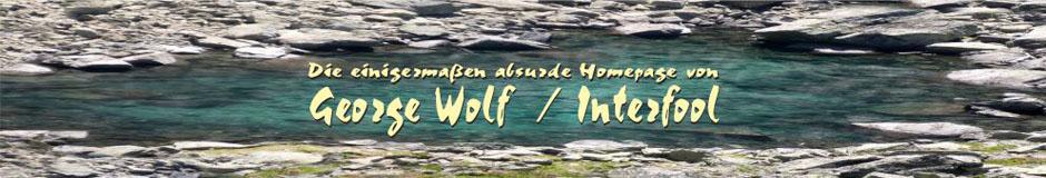 George Wolf & Interfool Homepage